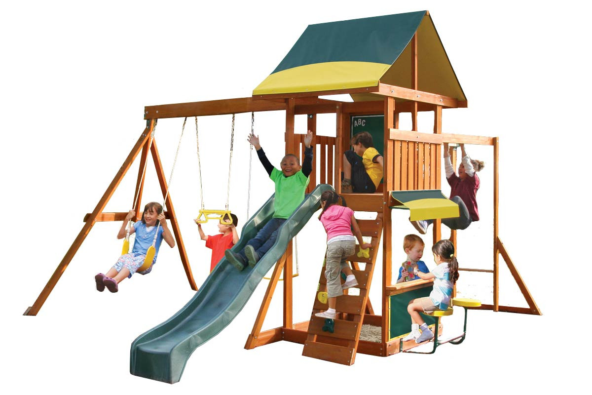 brightside swing and slide set