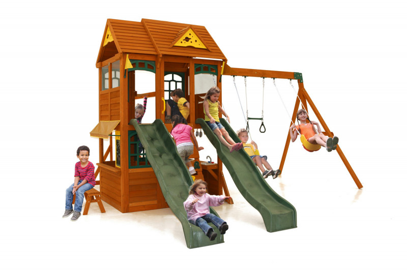 Jazz Climbing Frame with slides and monkey bars