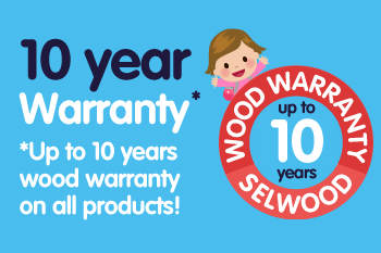 Up to 10-year wood warranty