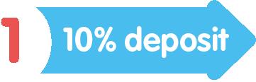 Layby Step 1 - 10% Deposit