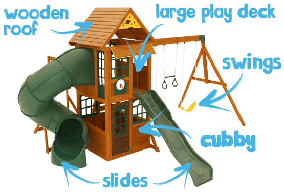 Climbing Frame Features