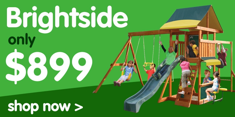 Brightside Climbing with swings, slide and monkeybar