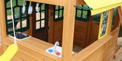 Wooden Cubby Houses